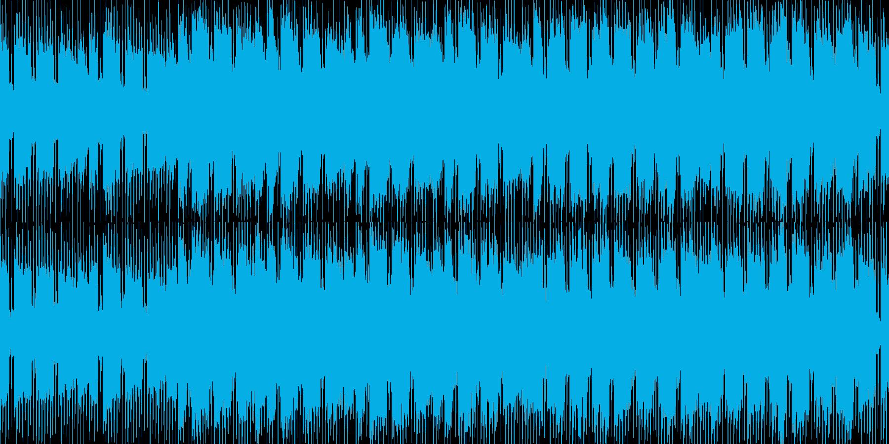 ゆる〜く・まったり・癖になるループ素材の再生済みの波形