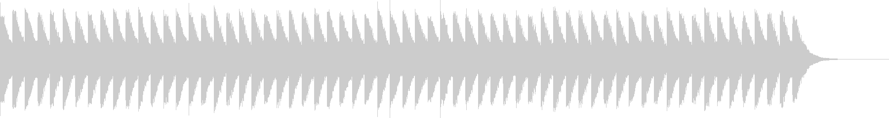 カンカンカン...。踏切D(低・長)の未再生の波形