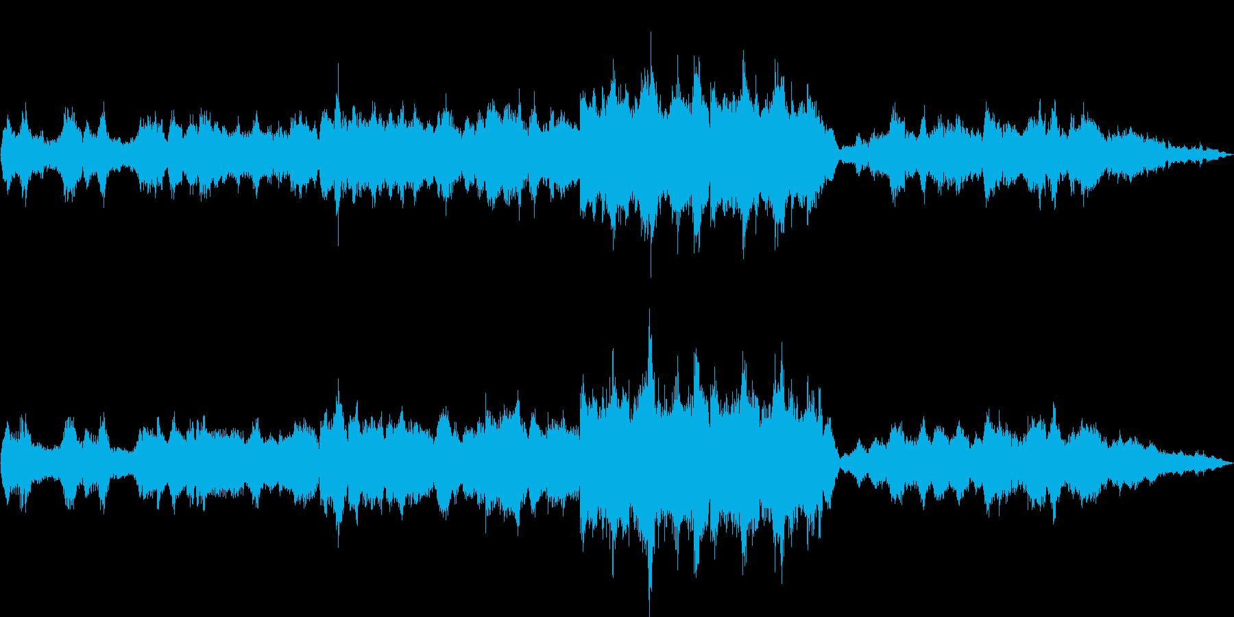 ミステリアスで効果音いっぱいの幻想曲の再生済みの波形