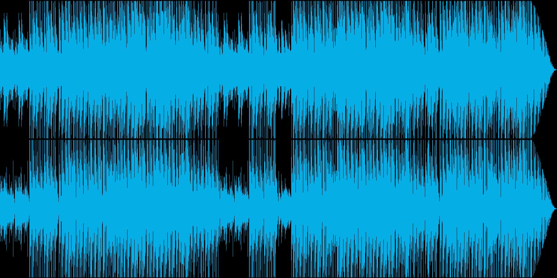 リラック系静かなバラードジャズメロ無しの再生済みの波形
