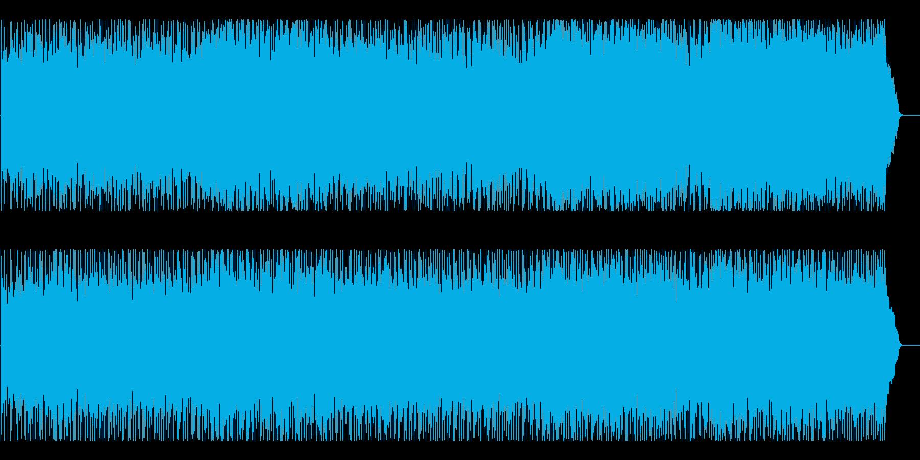 CM ショッピング 店内 情報 天気予報の再生済みの波形