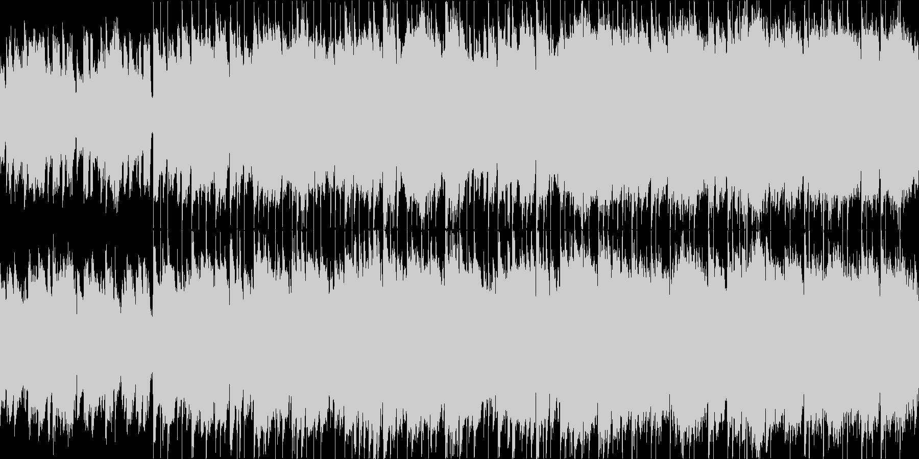 荒野を走る ループ 生演奏の未再生の波形