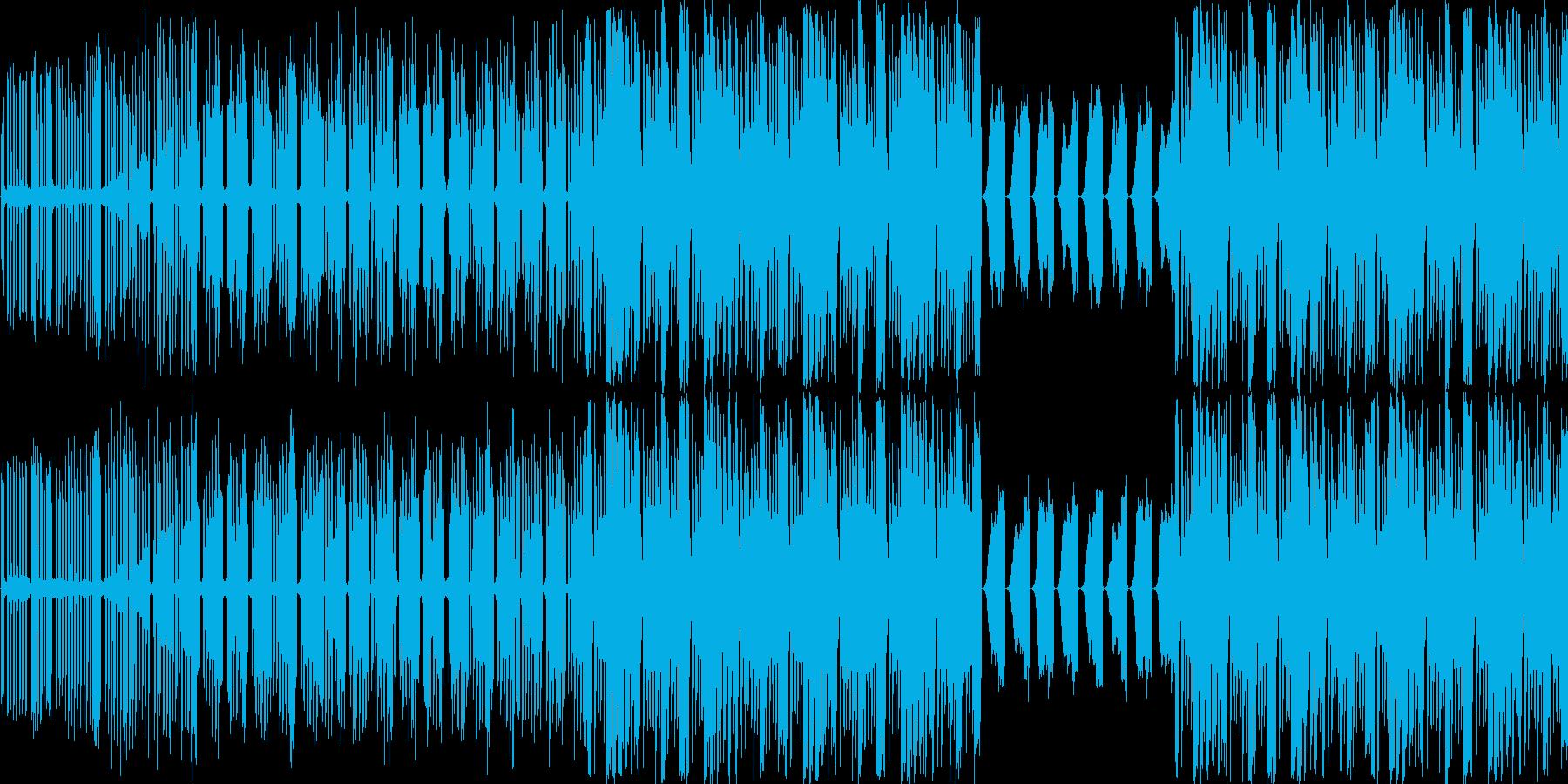 【近未来/サイバー/ハウス】の再生済みの波形
