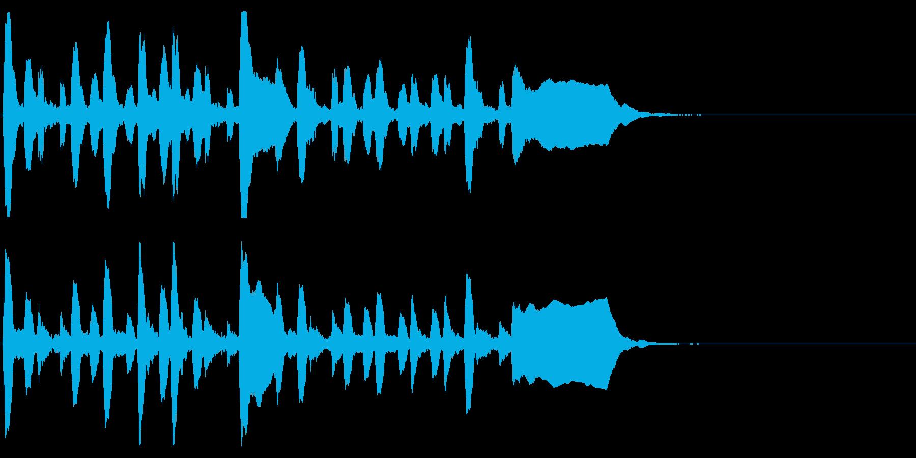 日本陸軍 突撃(出撃)ラッパ の再生済みの波形