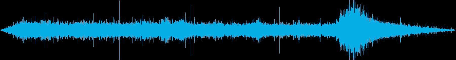 環境音-駅の改札口(人多め)の再生済みの波形