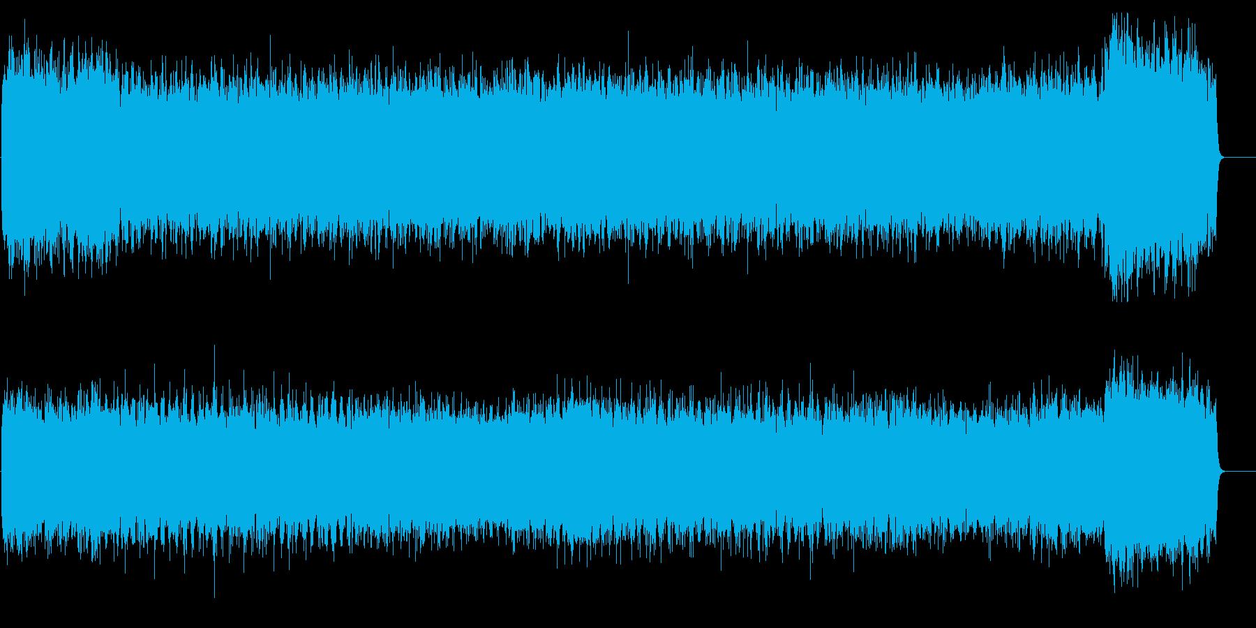 冬・雪を想像させるメルヘンオーケストラの再生済みの波形