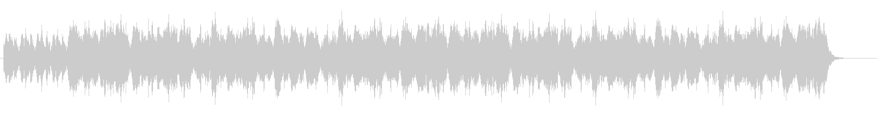 オーケストラの幻想的なワルツの未再生の波形