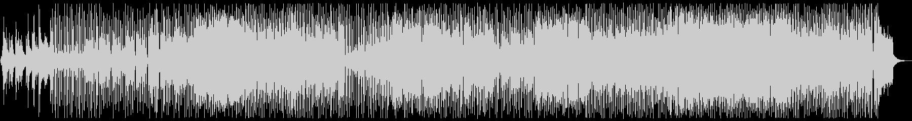 カフェミュージック:ピアノフュージョンの未再生の波形