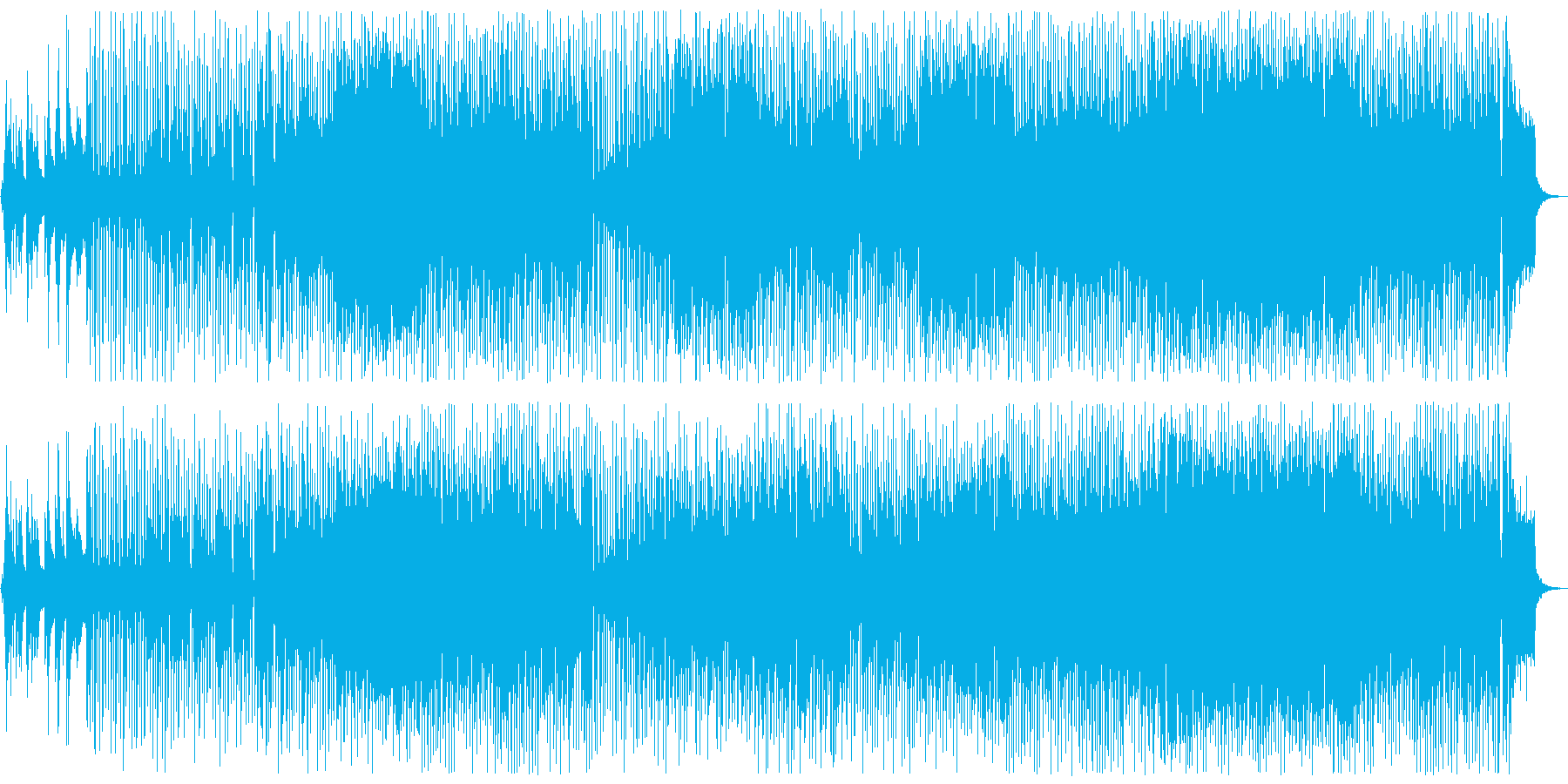 カフェミュージック:ピアノフュージョンの再生済みの波形