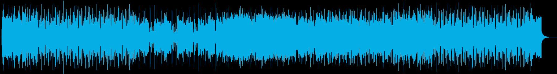 情熱的且つ感動的なバラードポップスの再生済みの波形