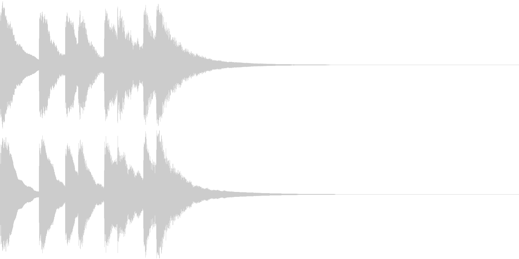 シンプル ベル チャイナ 中国風 11の未再生の波形