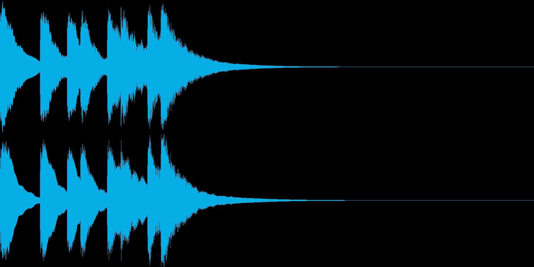 シンプル ベル チャイナ 中国風 11の再生済みの波形