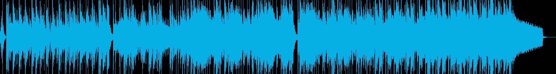 緊迫したゲームバトルシーン等(ロック)1の再生済みの波形