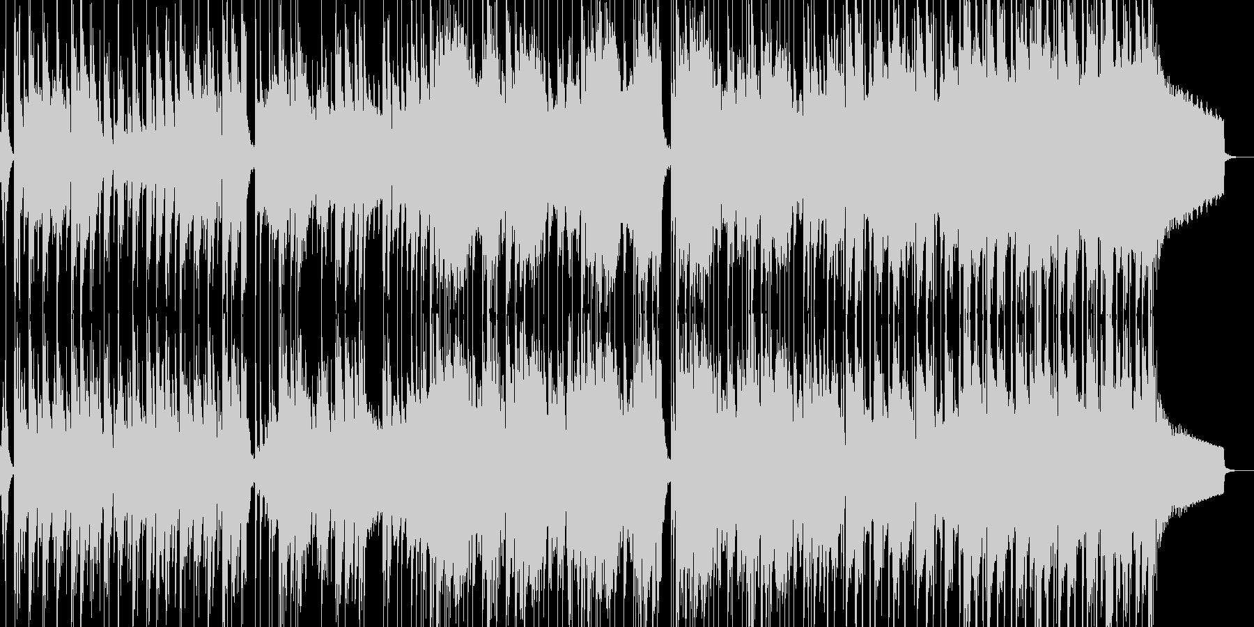 緊迫したゲームバトルシーン等(ロック)1の未再生の波形