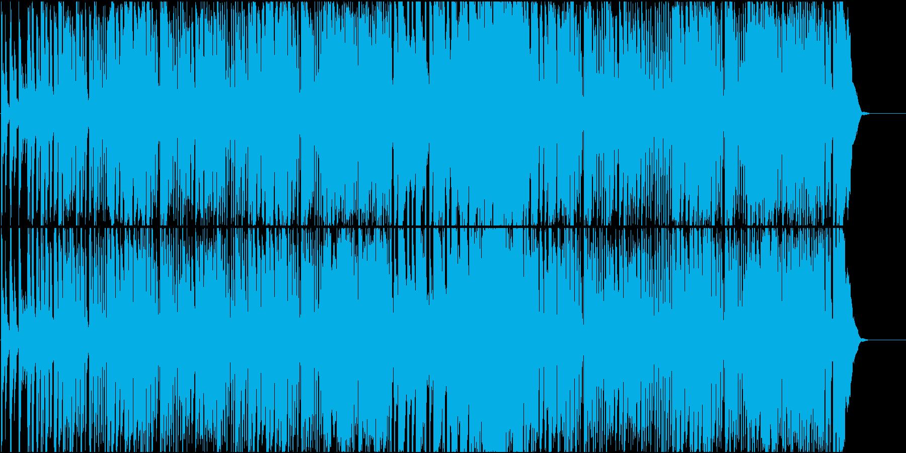 ほのぼの とぼけた子供小動物向けBGM の再生済みの波形