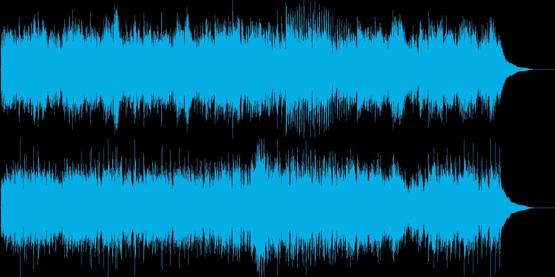 CMや映像に ピアノのヒーリングで癒しの再生済みの波形