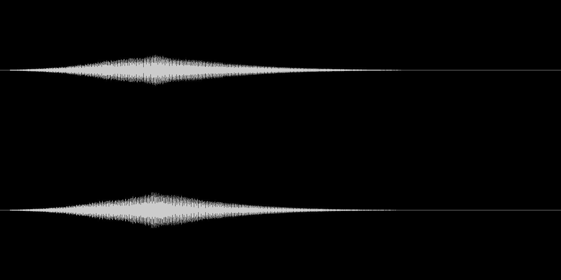 オーブの光る音/共鳴反応/魔法SE3の未再生の波形