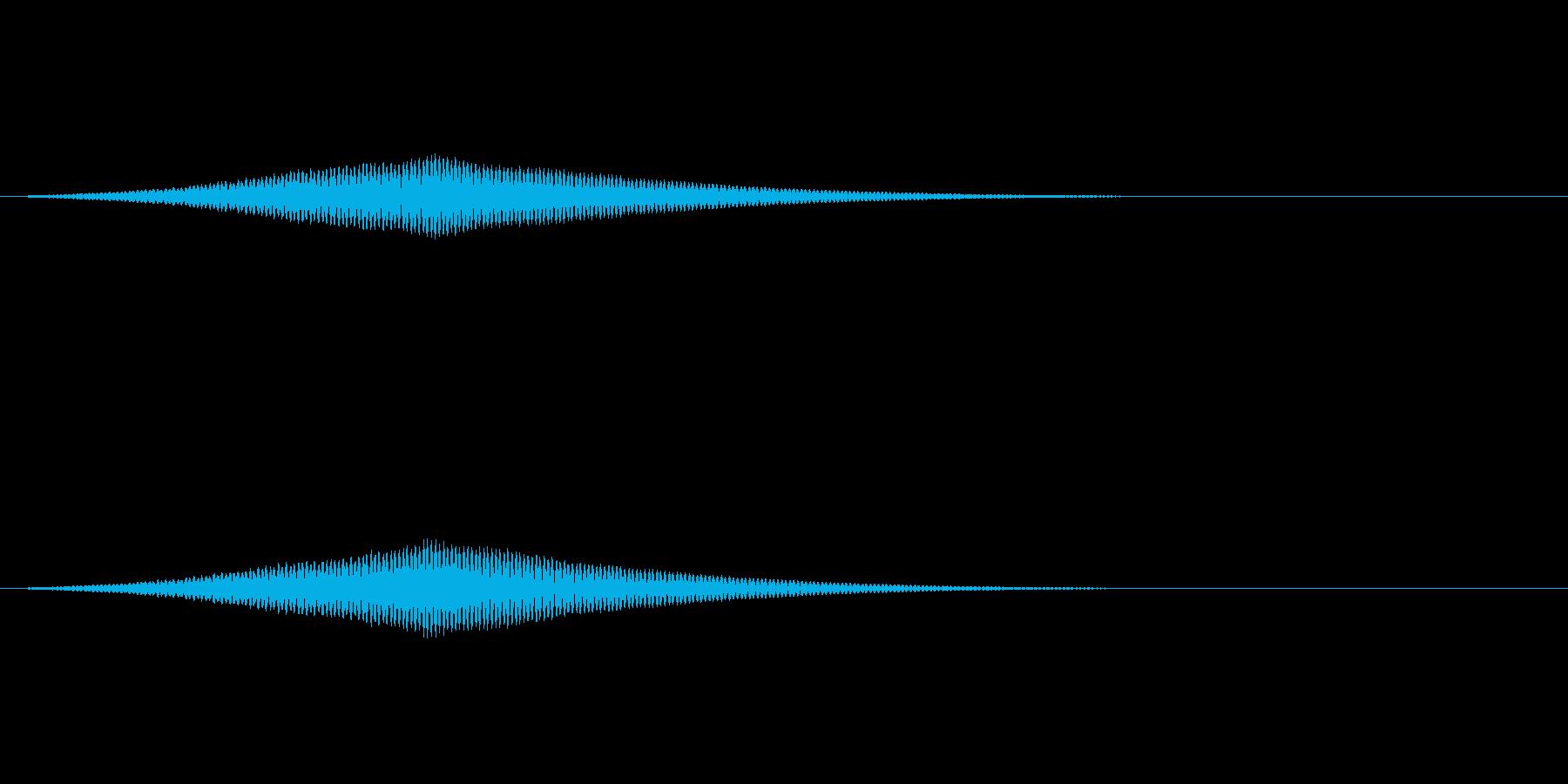 オーブの光る音/共鳴反応/魔法SE3の再生済みの波形