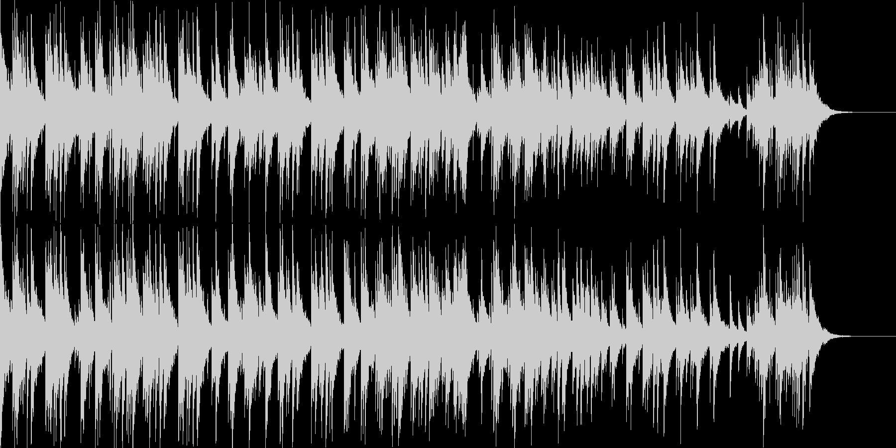 和風 琴とピアノのフュージョン 爽やかの未再生の波形