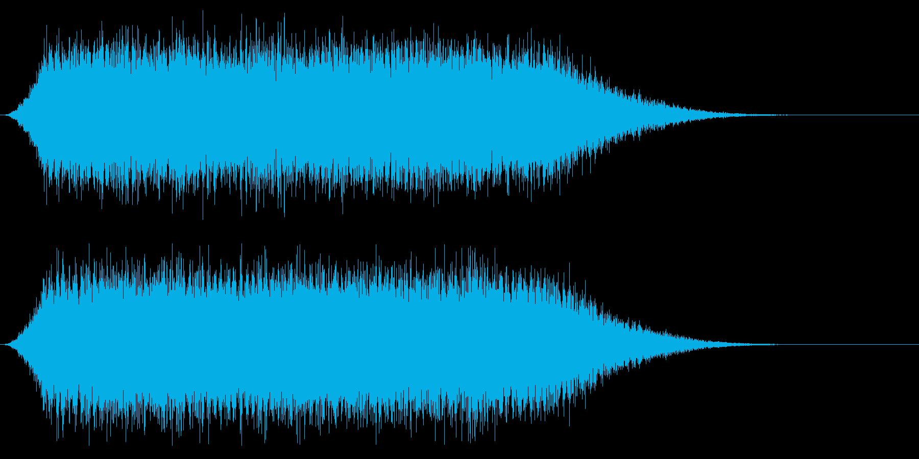 宇宙船・飛翔体#4アイドリングの再生済みの波形