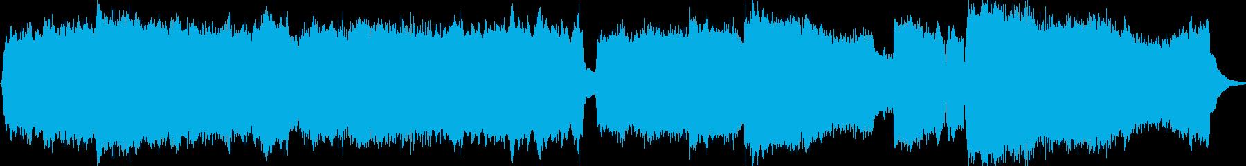 教会のオルガンの音を使った、前奏曲 は…の再生済みの波形