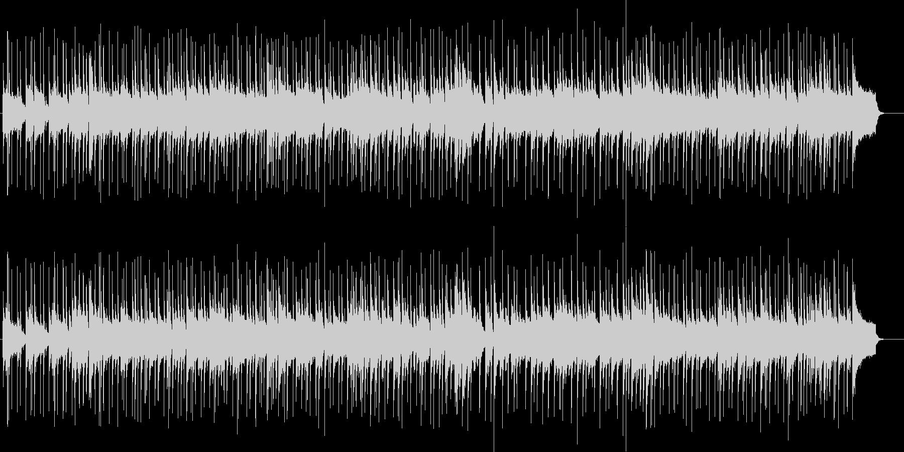 ピアノを使用した爽やかなジャズですの未再生の波形