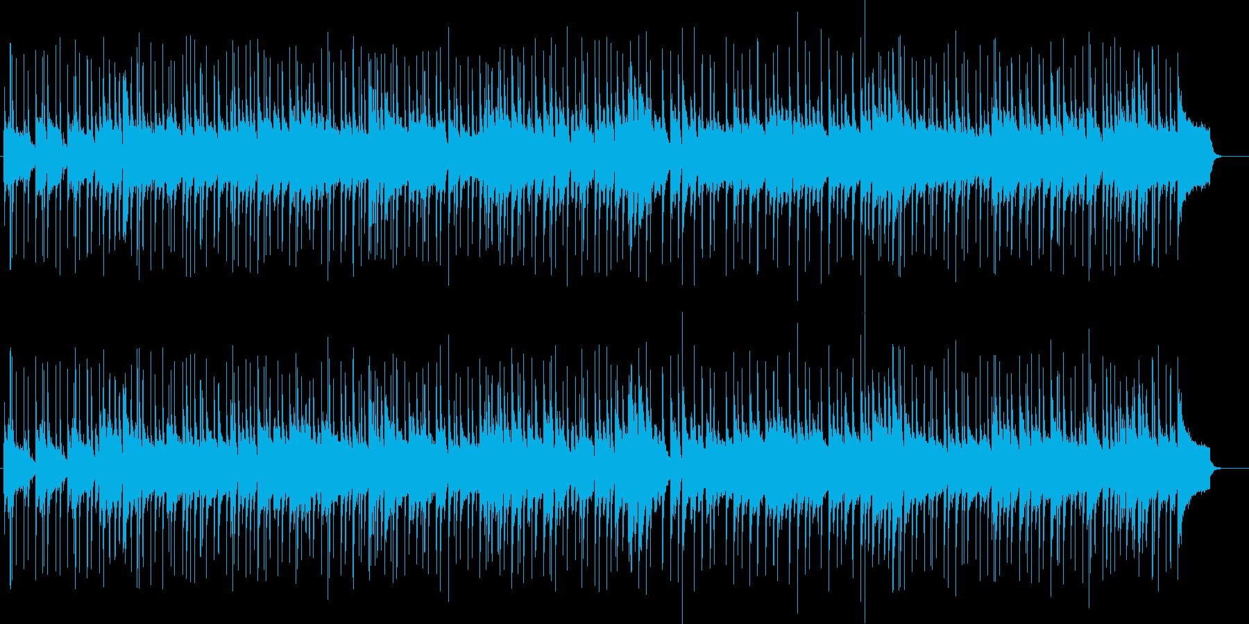 ピアノを使用した爽やかなジャズですの再生済みの波形