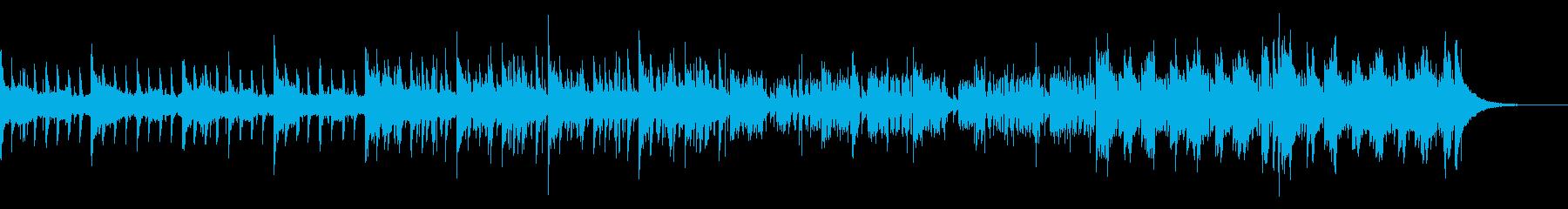 ダークなトラップ風インダストリアルの再生済みの波形