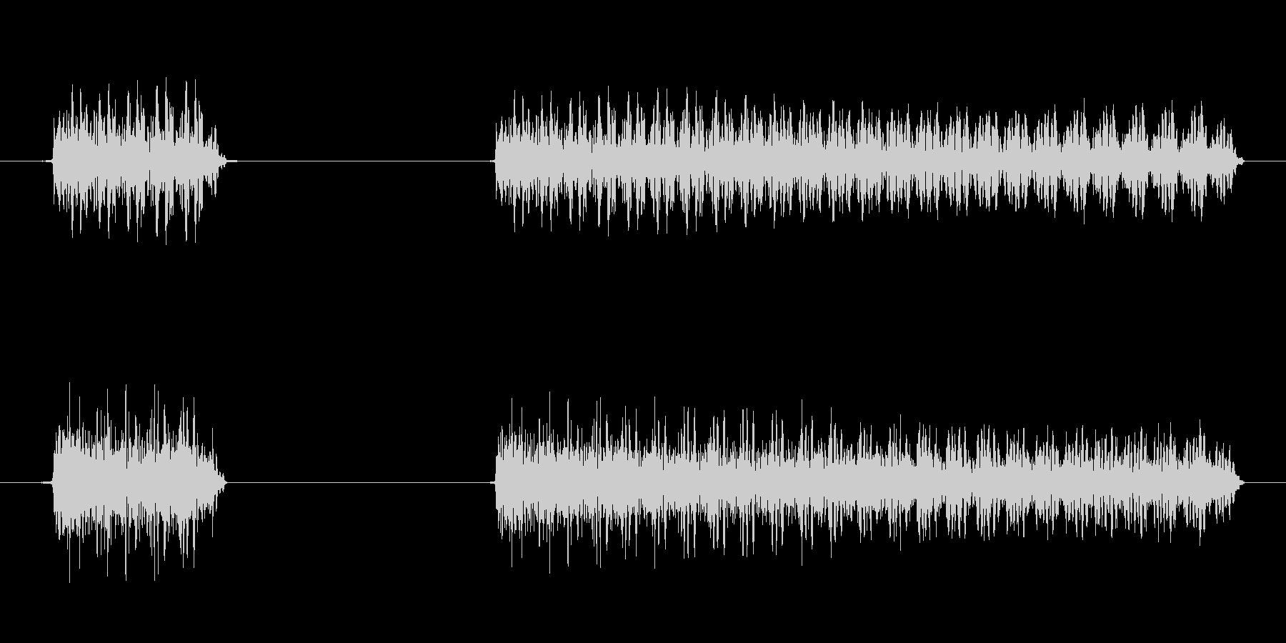 ゲーム、クイズ(ブー音)_008の未再生の波形