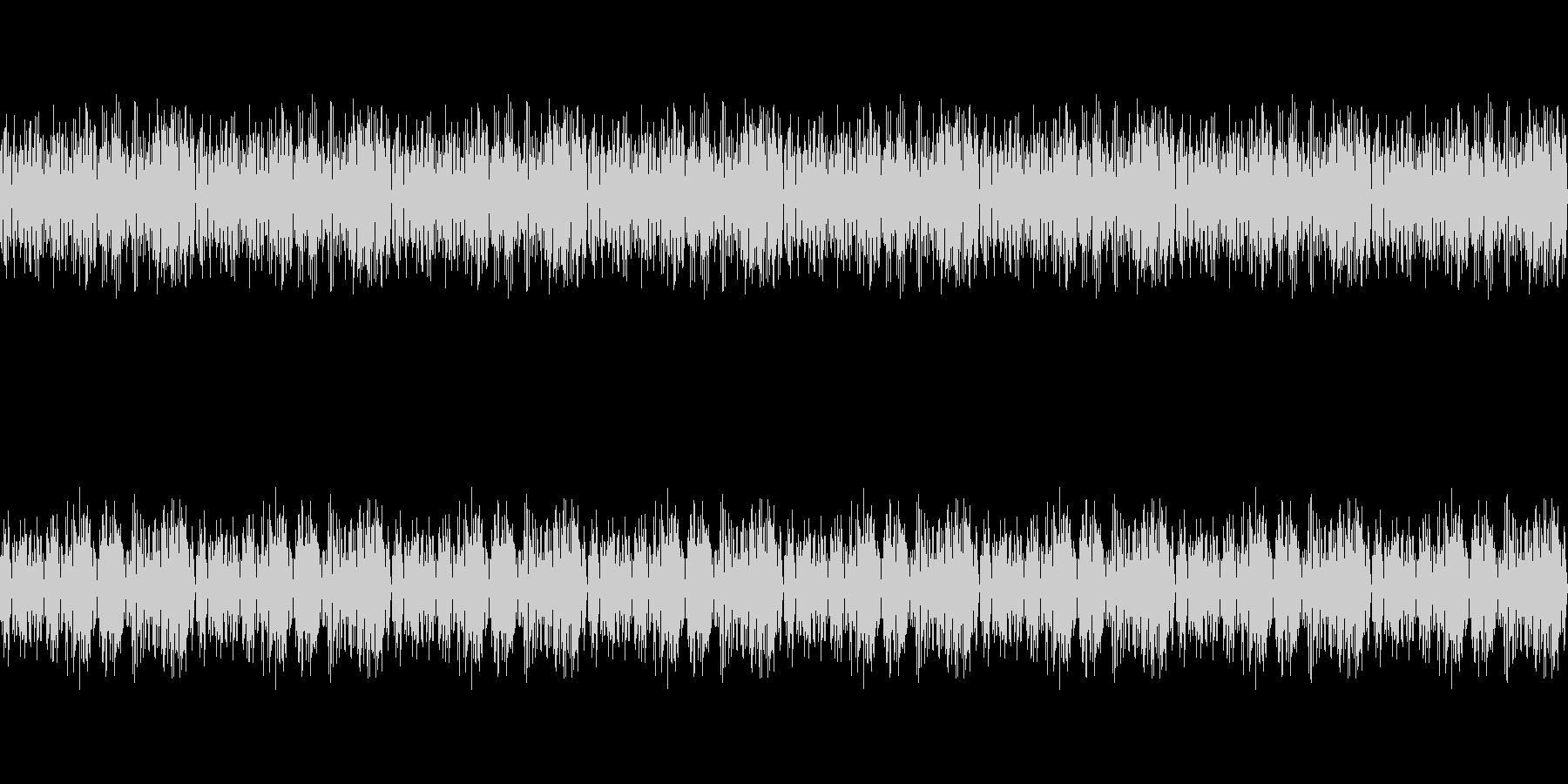 のんびりとした雰囲気のピアノ曲 ループ版の未再生の波形