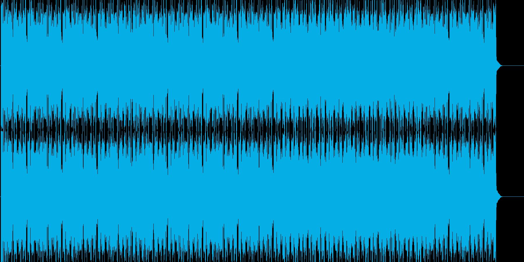 ワクワクするテクノの再生済みの波形