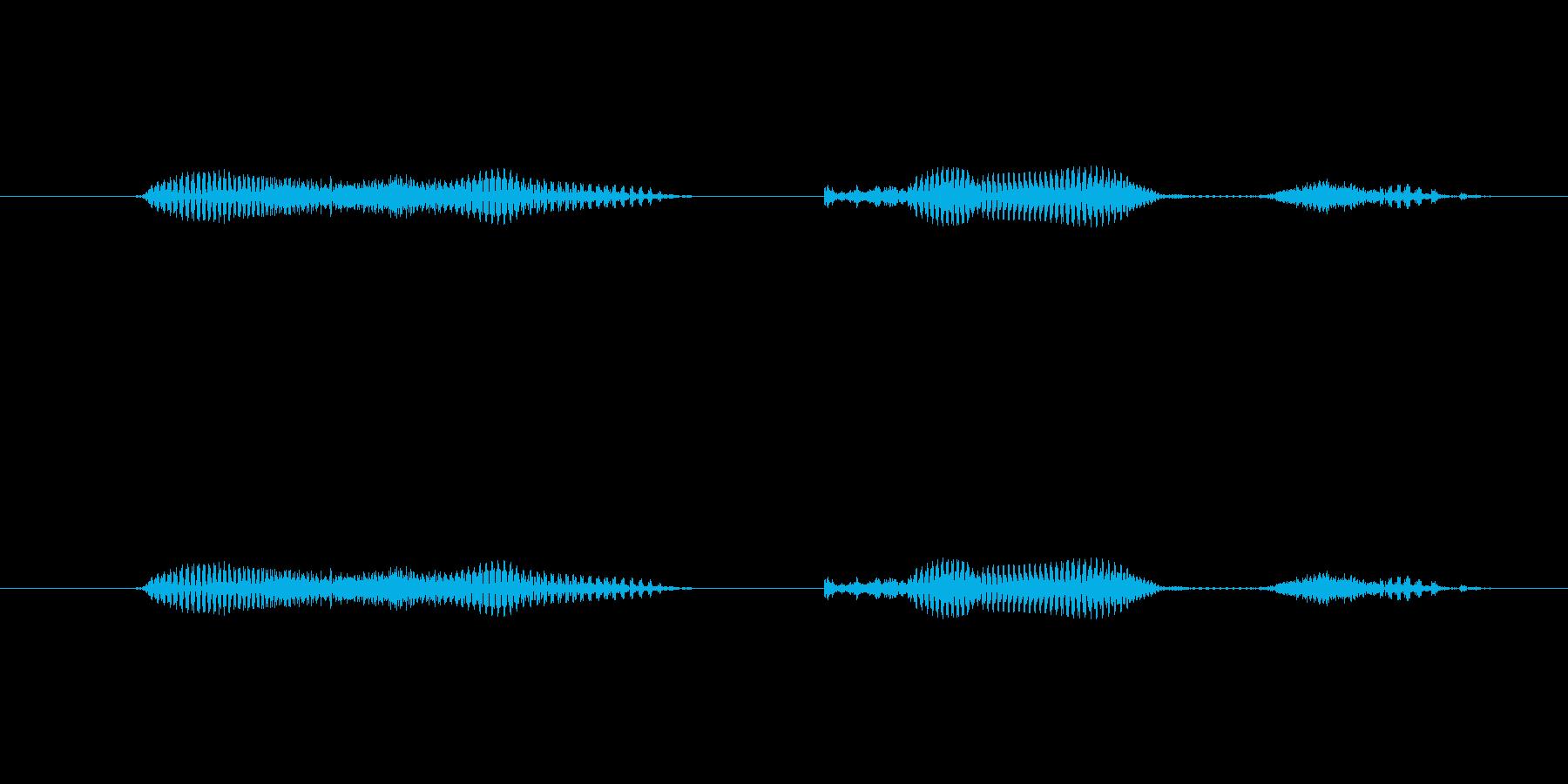【日】29日の再生済みの波形