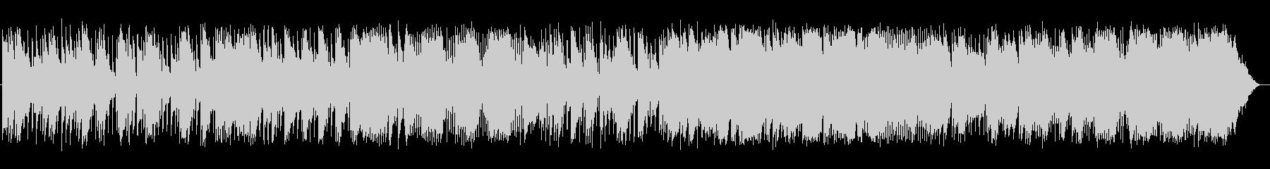 切ないセンチメンタルなバラードの未再生の波形