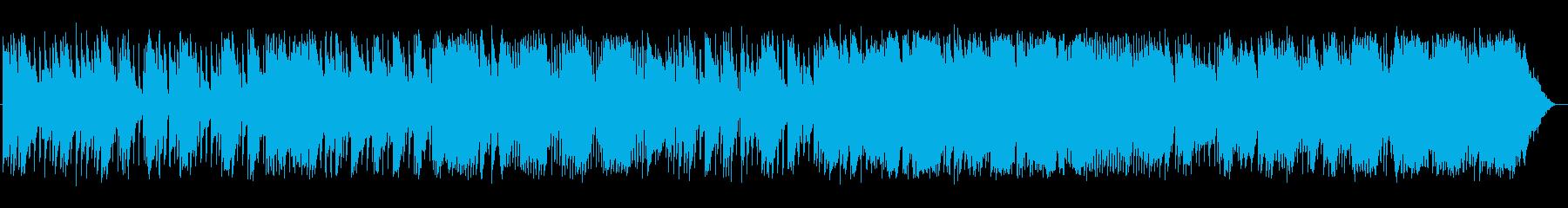 切ないセンチメンタルなバラードの再生済みの波形