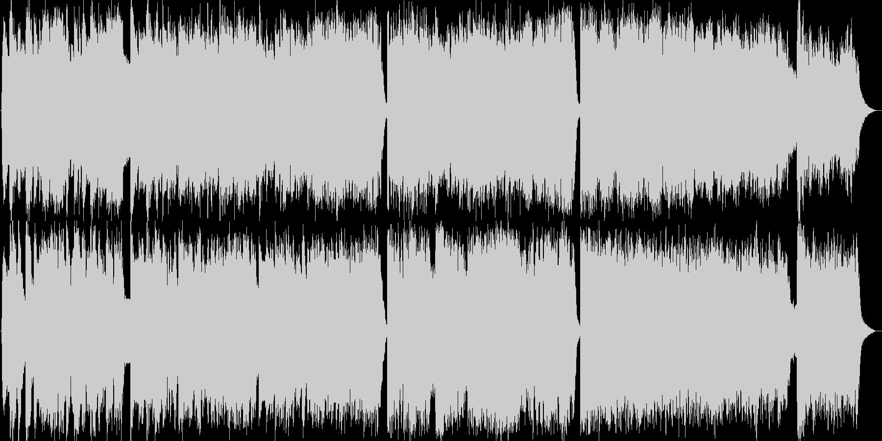 【結婚式/卒業式】ピアノ/ストリングの未再生の波形