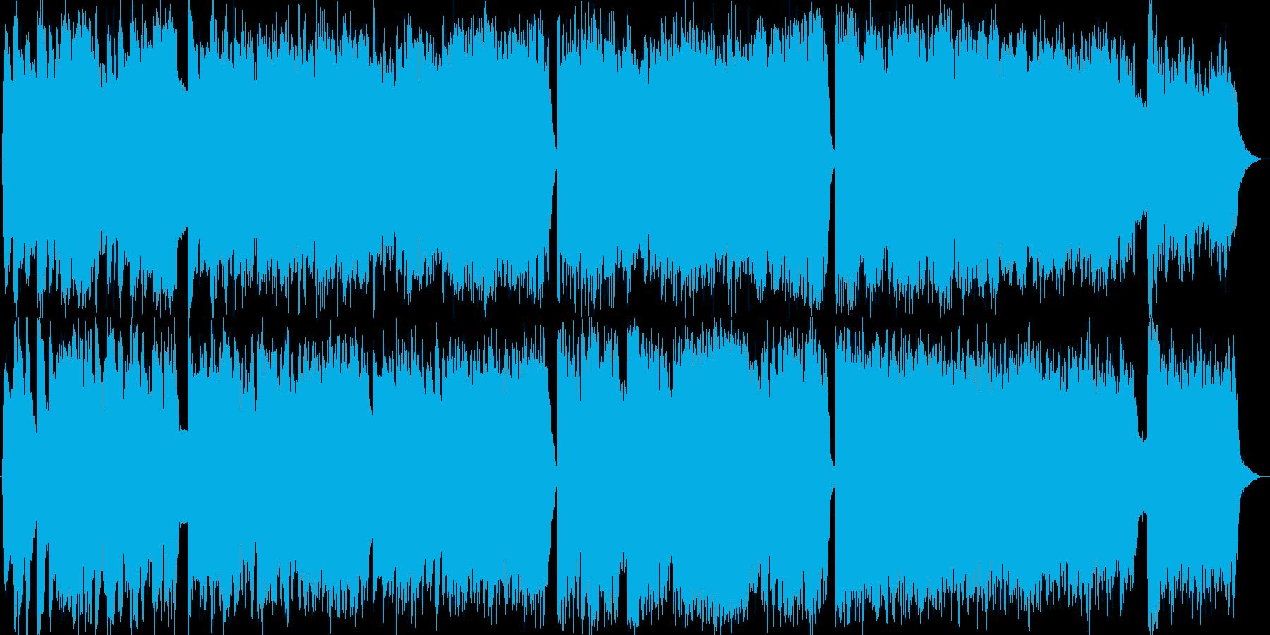【結婚式/卒業式】ピアノ/ストリングの再生済みの波形
