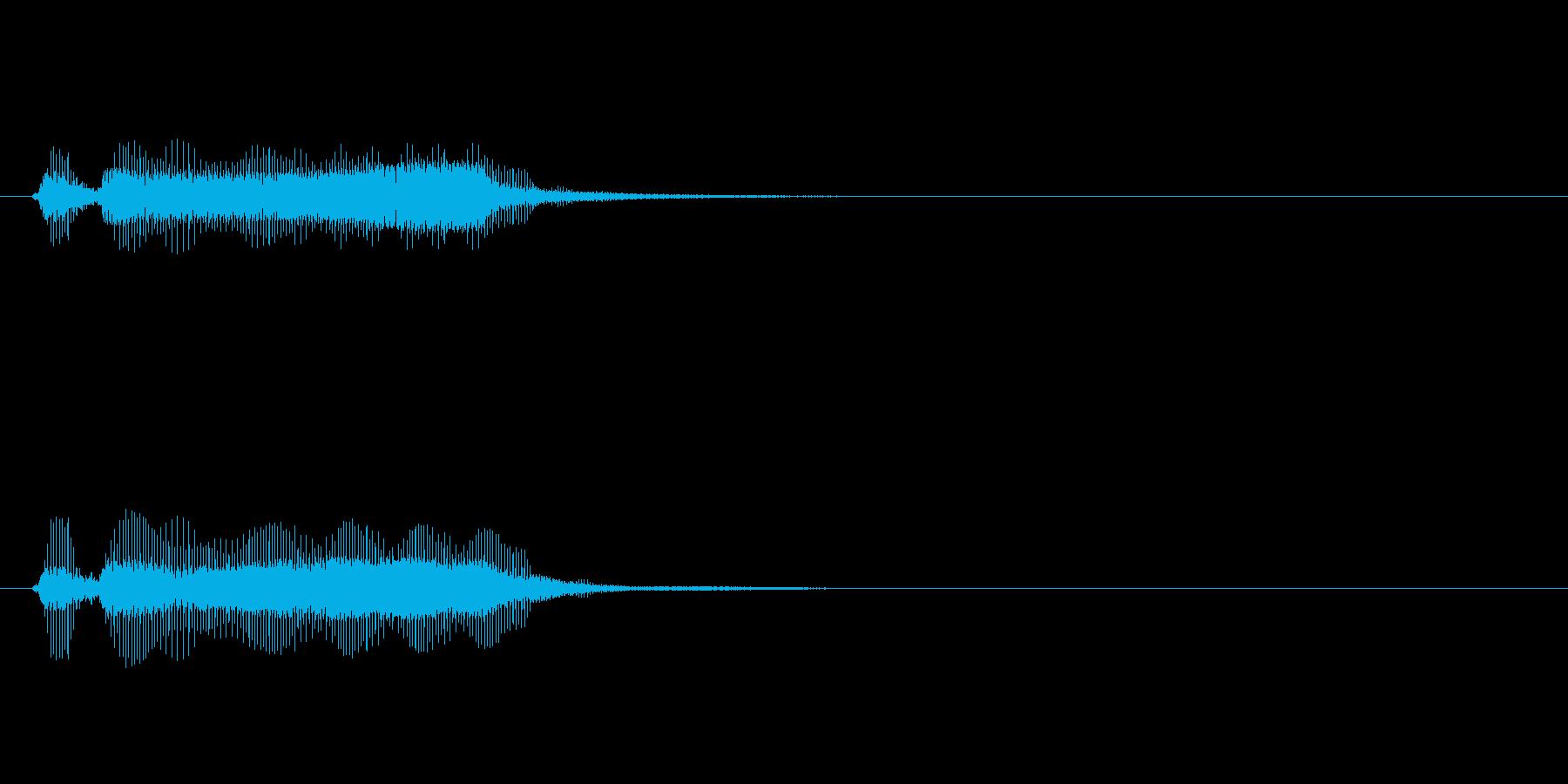【フレーズ02-2】の再生済みの波形