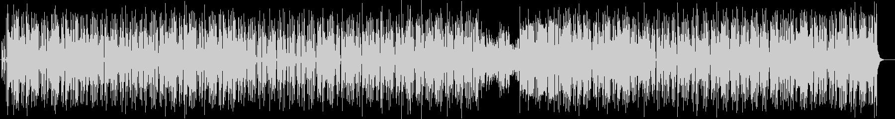 ちょっぴりおとぼけ系のコミカル曲の未再生の波形