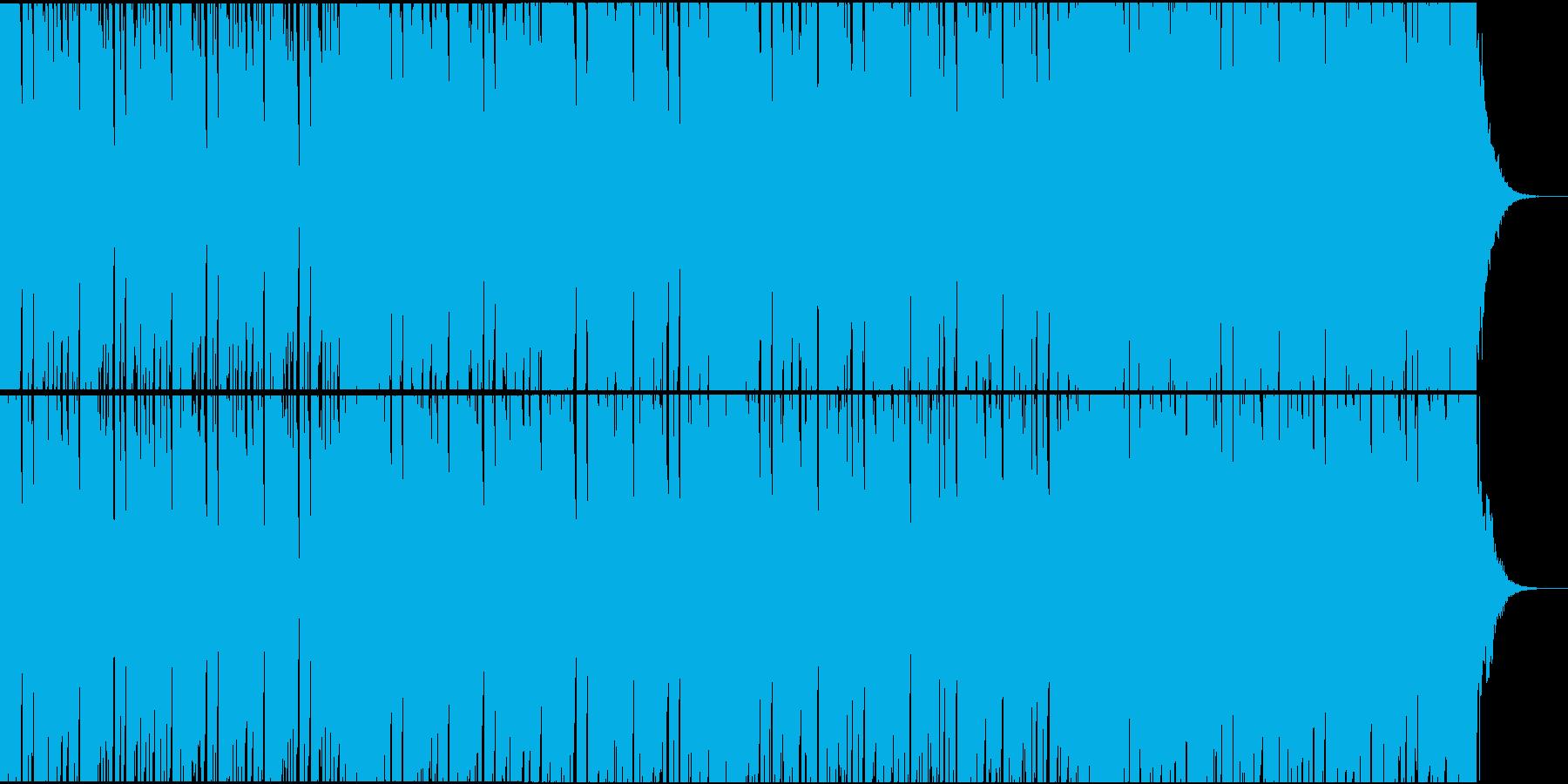 元気・弾ける・ポップ・ハイテンションの再生済みの波形