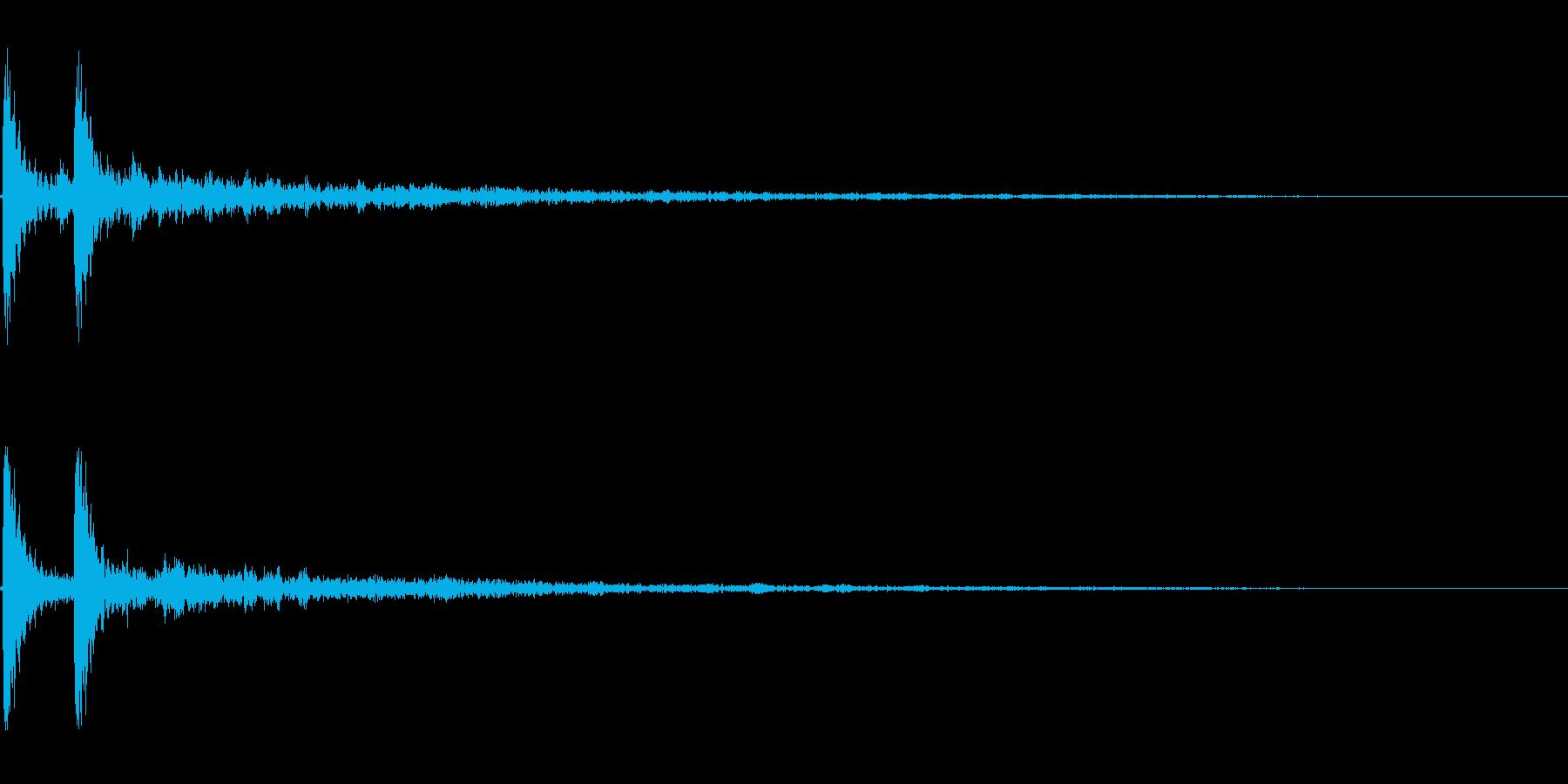 【風呂桶01-2】の再生済みの波形