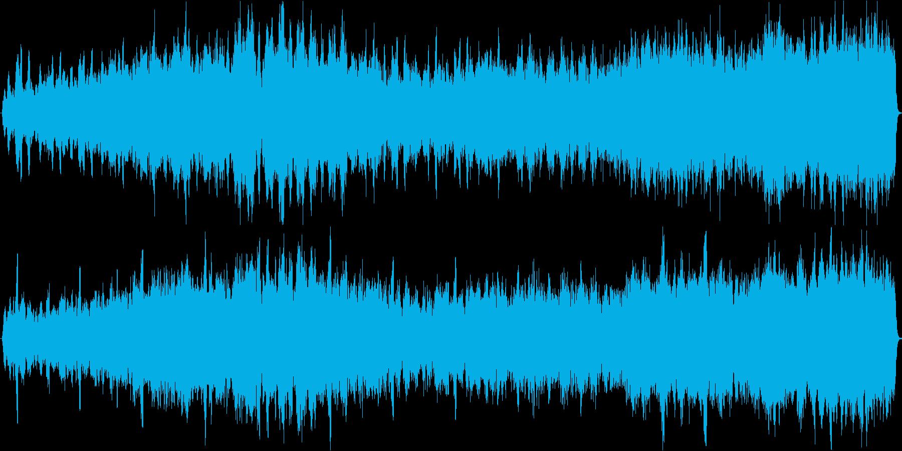 パフェルベルのカノン 弦楽オーケストラの再生済みの波形