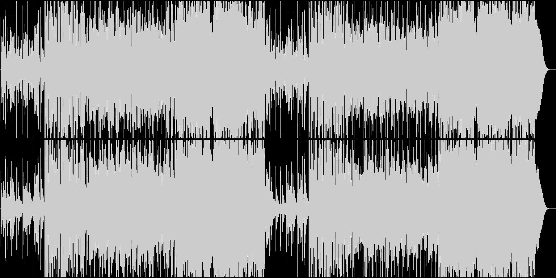 イーグルス系少し早めのカントリーロックの未再生の波形