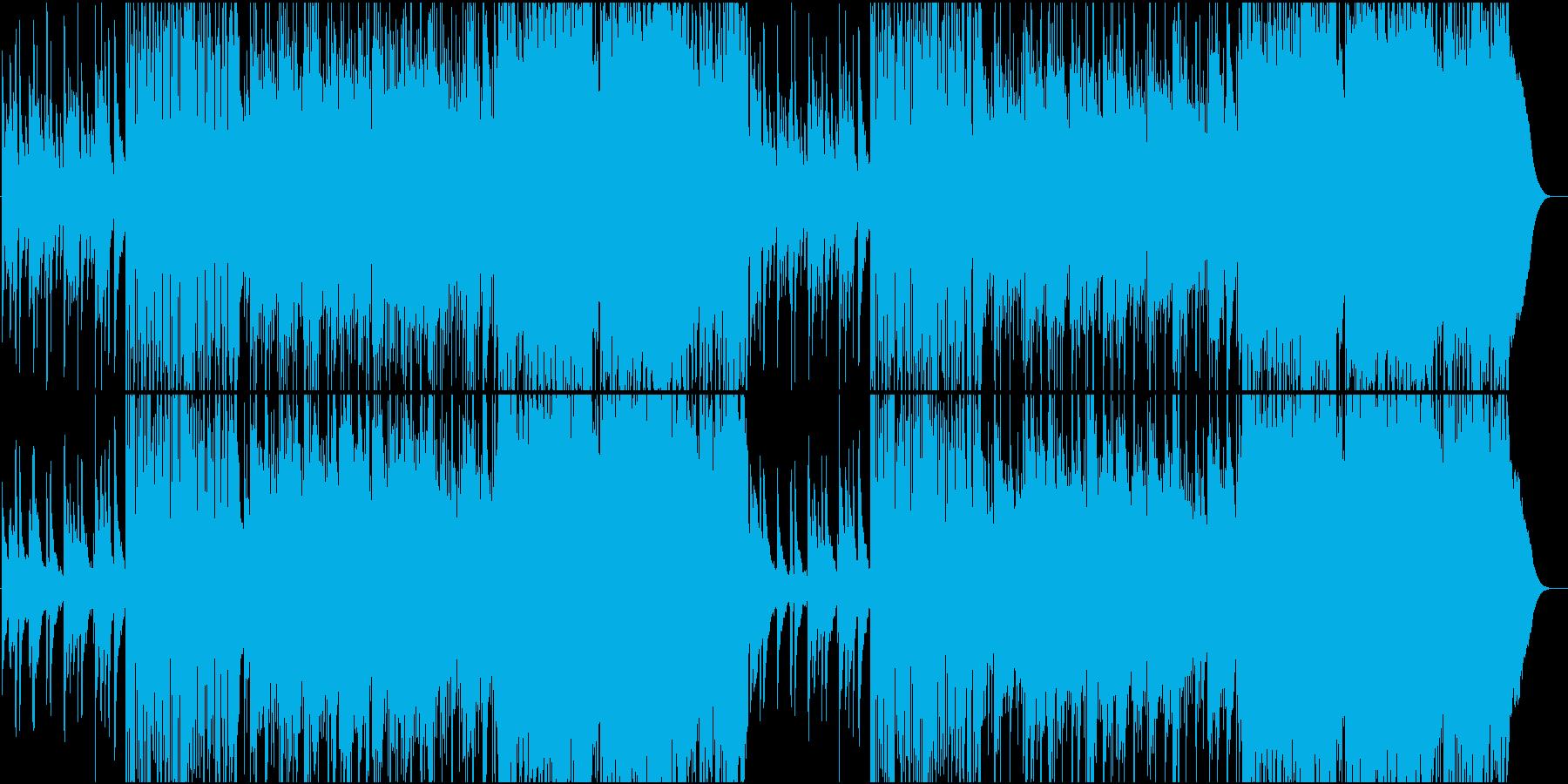 イーグルス系少し早めのカントリーロックの再生済みの波形