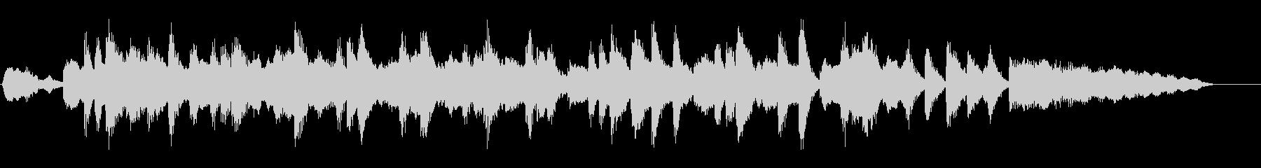 ジングル|軽快なお昼の雰囲気-管弦楽器の未再生の波形