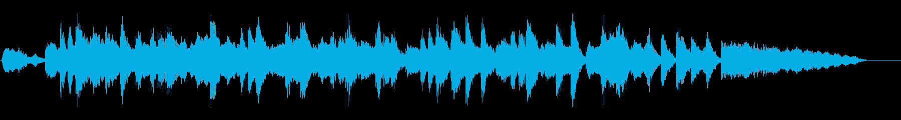 ジングル|軽快なお昼の雰囲気-管弦楽器の再生済みの波形