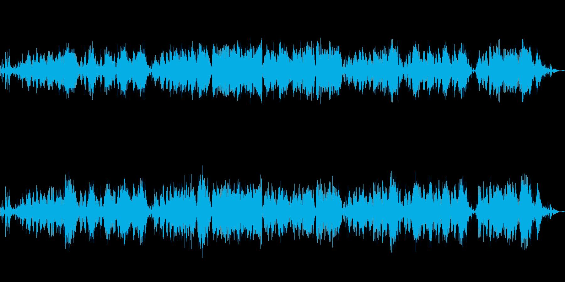 サティ「Je te veux」ピアノ遅めの再生済みの波形
