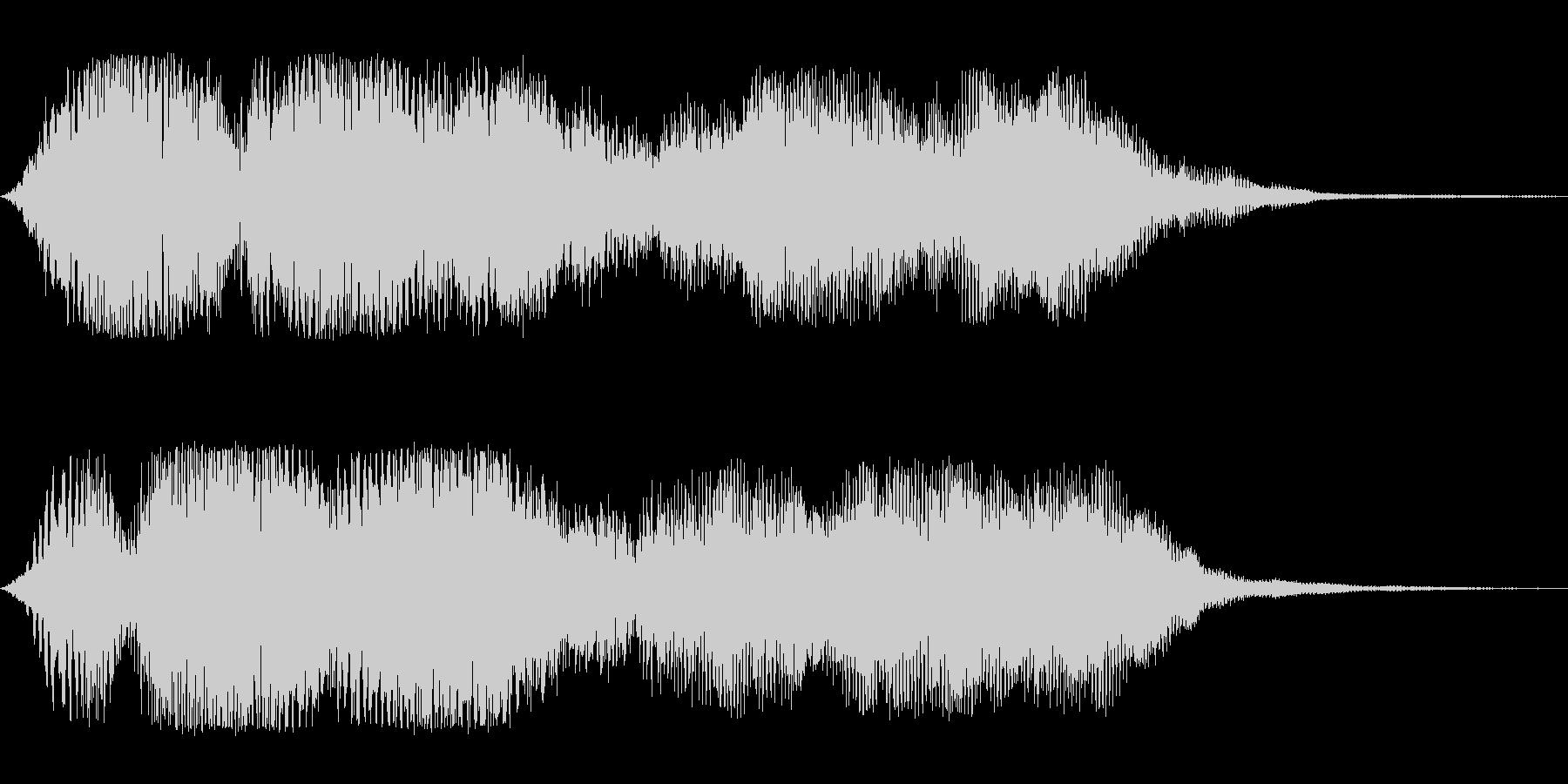 オープニング(ゆったり)の未再生の波形