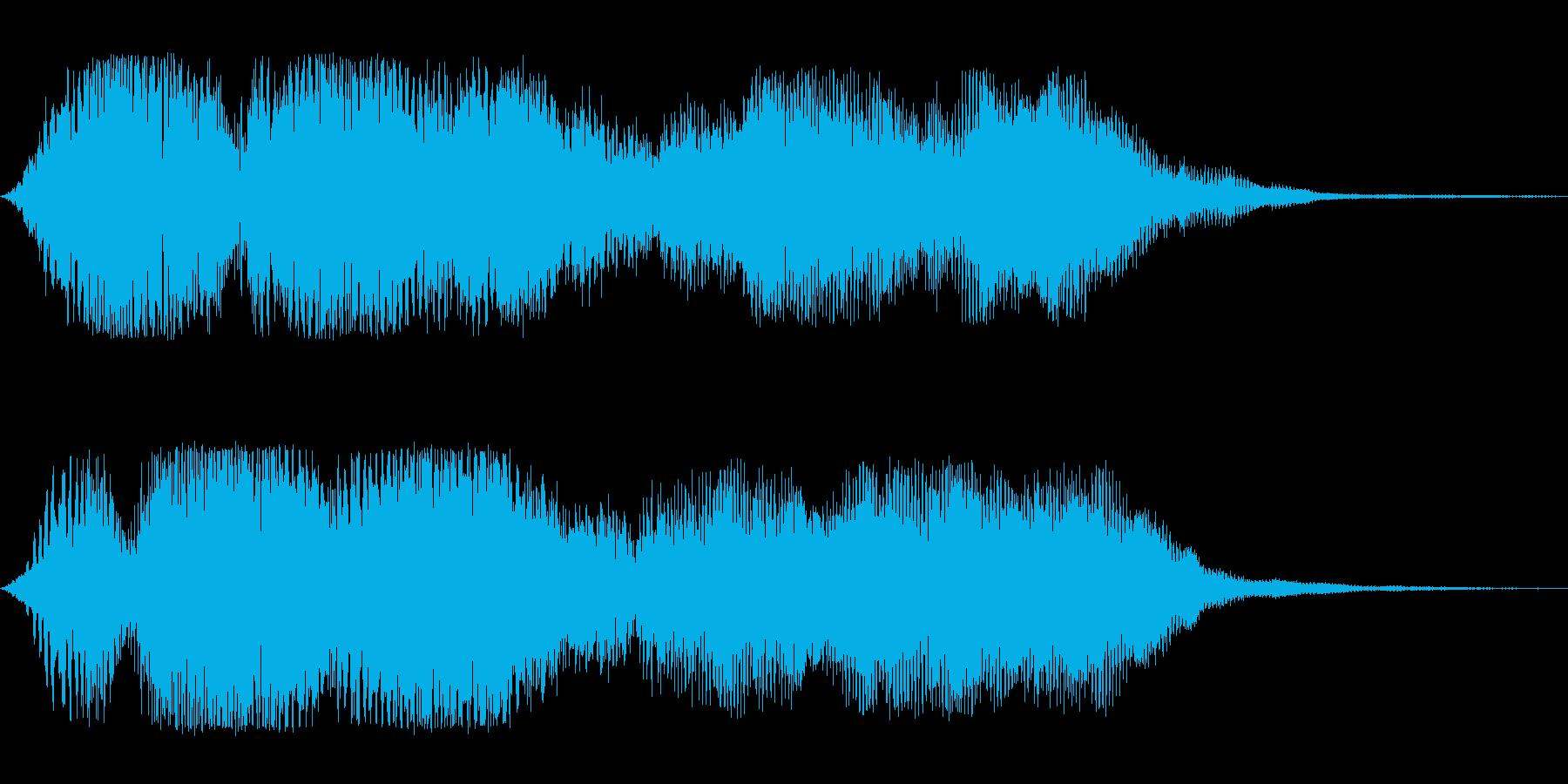 オープニング(ゆったり)の再生済みの波形