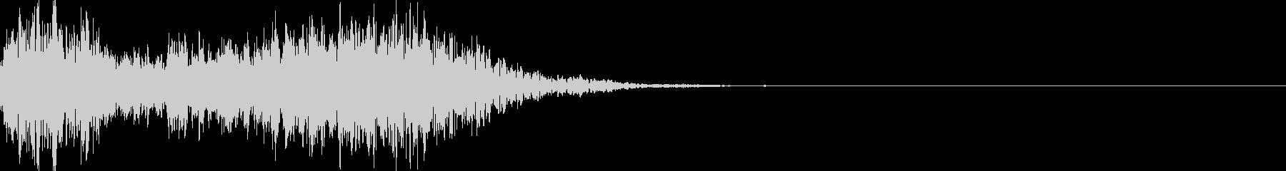 太鼓の和太鼓フレーズ/和風ジングル 37の未再生の波形