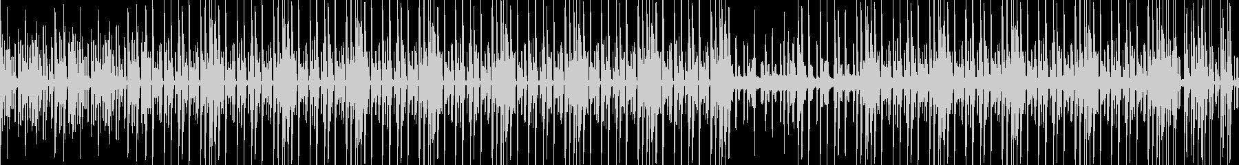 科学番組をイメージした静かな曲の未再生の波形